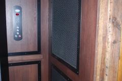 home elevator installed d1