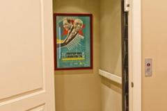 home elevator installed D2