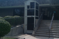 Wheelchair lifts -Police-Station1