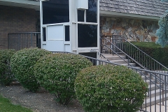 Wheelchair lifts -Police-Station4