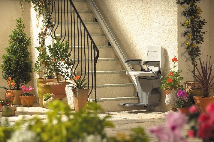 outside stair lift