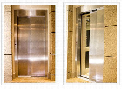 Two Stage Stainless Steel Doors