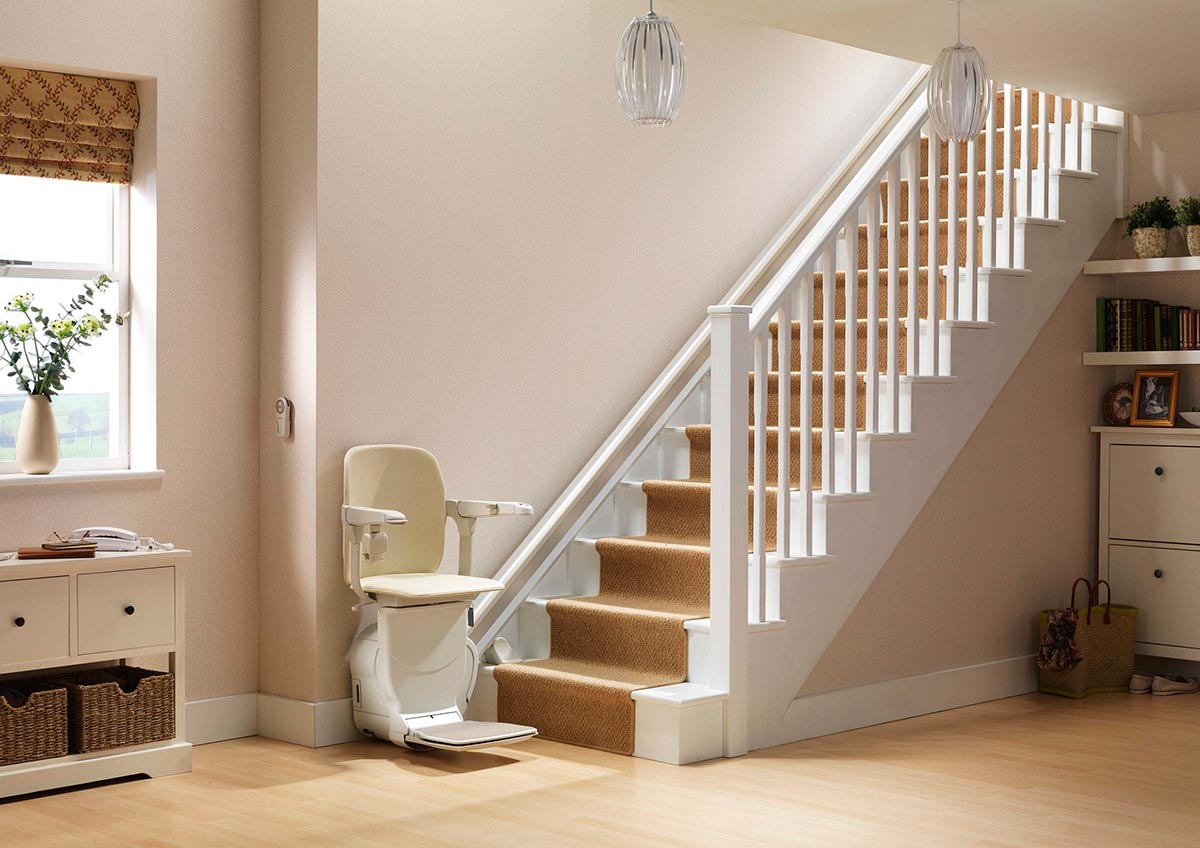 Stairlift home elevators wheelchair lifts in joliet il for Simple home elevators