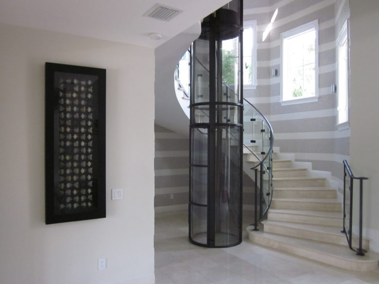 This Single Passenger Elevator Is The Perfect Space Saving Solution For  Those Looking To Install An Elevator In Their Home.